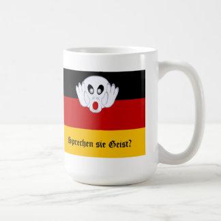 Sprechen sie Geist German National Flag Mug
