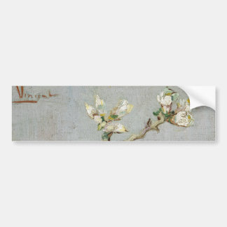 Sprig of Flowering Almond in a Glass by Van Gogh Bumper Sticker