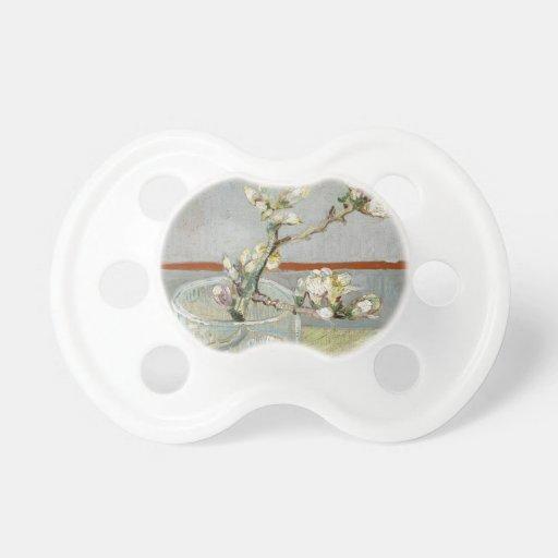 Sprig of Flowering Almond in a Glass by Van Gogh Baby Pacifiers