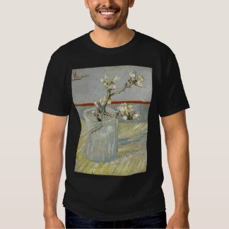 Sprig of Flowering Almond in a Glass by Van Gogh T Shirts
