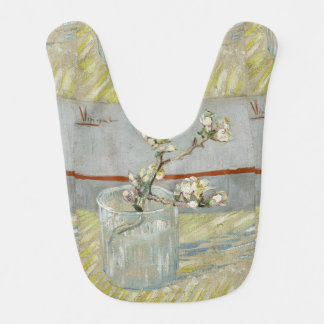 Sprig of Flowering Almond in a Glass by Van Gogh Baby Bib