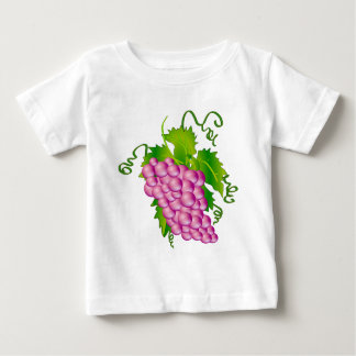 Sprig of Grapes Baby T-Shirt