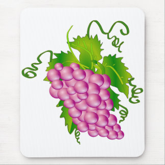 Sprig of Grapes Mouse Pad