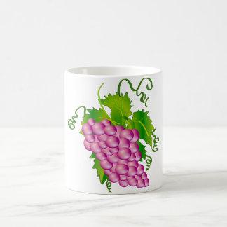 Sprig of Grapes Classic White Coffee Mug