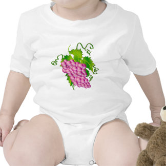 Sprig of Grapes Baby Bodysuit