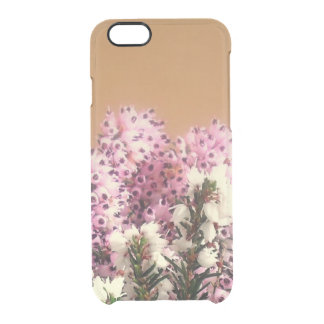 Sprigs of Heather Clear iPhone 6/6S Case