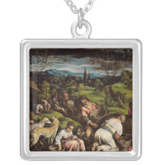 Spring, 1576 silver plated necklace