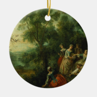 Spring, 1738 (oil on canvas) christmas ornament