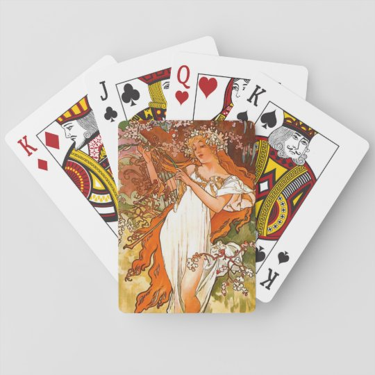 Spring 1896 playing cards