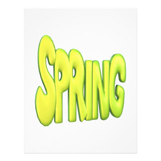 Spring 1 custom flyer