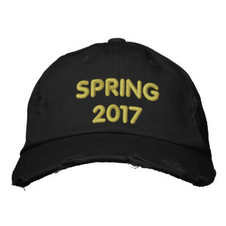 SPRING 2017 EMBROIDERED BASEBALL CAPS