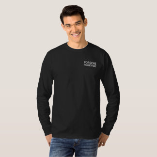 Spring 2018 Concours long sleeve light text T-Shirt