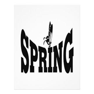 Spring 6 flyer design