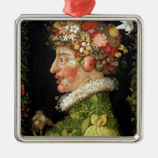 Spring, a series depicting the four seasons christmas ornament
