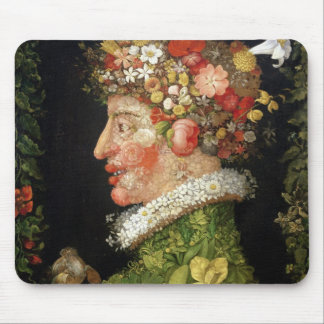 Spring, a series depicting the four seasons mouse mat