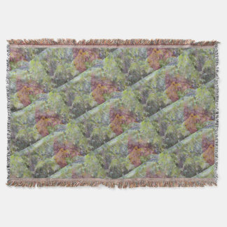 Spring Abstract Throw