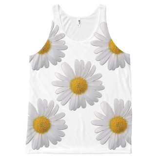 Spring All-Over Print Tank Top
