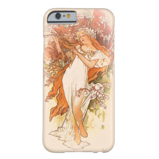 Spring - Alphonse Mucha Art Nouveau Barely There iPhone 6 Case