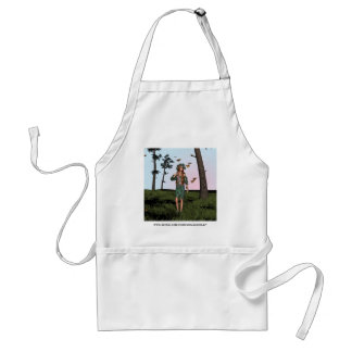 Spring and Butterflies Apron