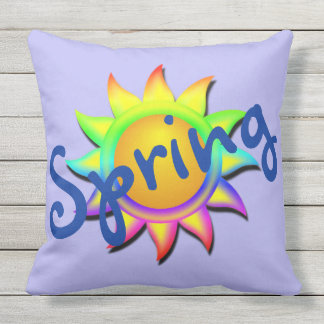 Spring and Sun Welcome Spring Cushions