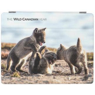 Spring - Arctic Fox iPad Cover