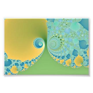 Spring Arrives - Fractal Art Photo Print