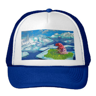 Spring at the north pole hat
