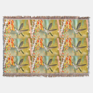 Spring Baby Hummer Throw Blanket