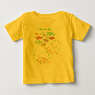 Spring Baby (personalize with Babyname) Baby T-Shirt