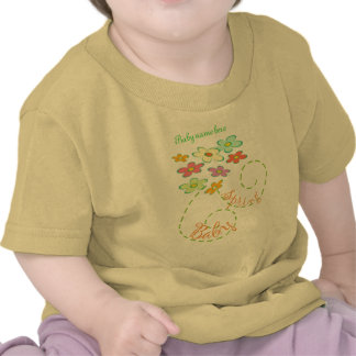 Spring Baby (personalize with Babyname) Tee Shirt