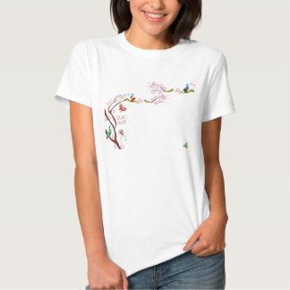 Spring background t-shirt