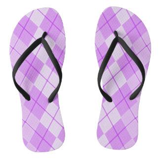 Spring -Beauty-Pink--Argyle(C)Multi-Styles Flip Flops