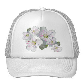 Spring Beauty Wildflower Coordinating Items Cap