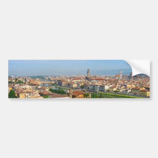 Spring blooms in Florence Bumper Sticker