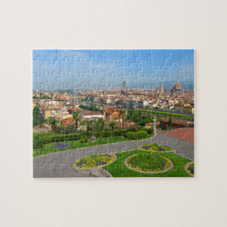 Spring blooms in Florence Jigsaw Puzzle