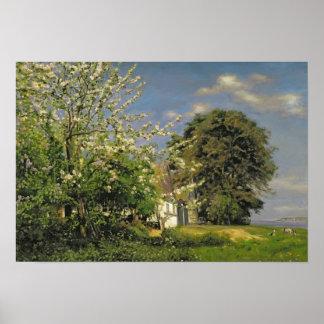 Spring Blossom, 1908 Poster
