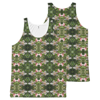 Spring Blossom 6 All-Over Print Tank Top