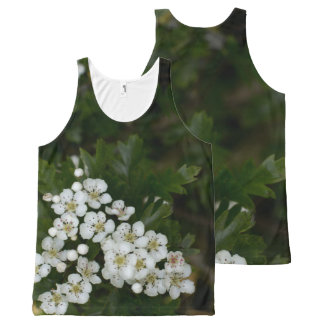 Spring blossom All-Over print tank top