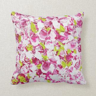 Spring Blossom Floral Cushion