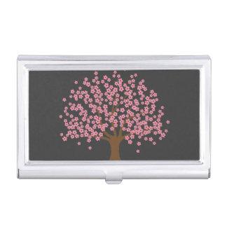 Spring Blossom Tree Business Card Holder