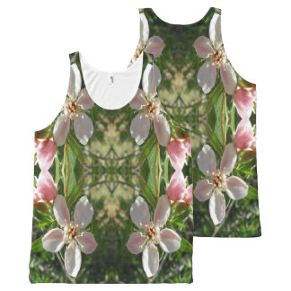 Spring Blossom XO All-Over Print Tank Top