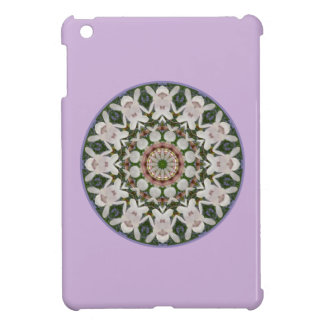 Spring blossoms 04.2, Flower-Mandala Cover For The iPad Mini