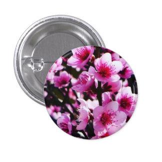 Spring Blossoms 3 Cm Round Badge