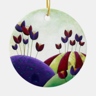 Spring Blossoms Christmas Ornament