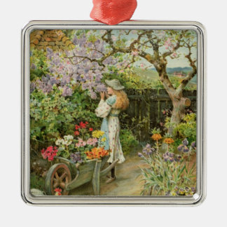 Spring Blossoms, from the Pears Annual, 1902 Christmas Ornament