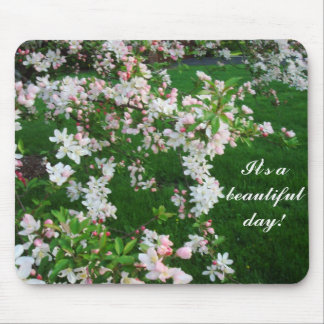 Spring Blossoms Mouse Pad