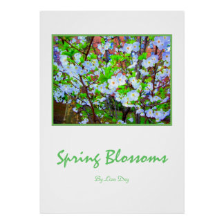 'Spring Blossoms'  Poster