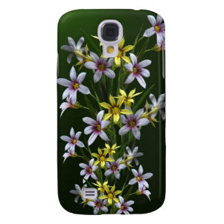 Spring Blue-Eyed Wildflower iPhone Case Galaxy S4 Cover