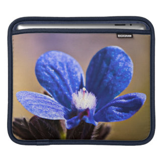 Spring Blue Flower iPad Sleeve