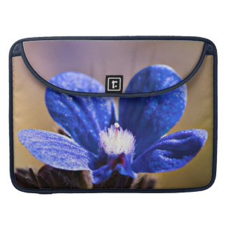 Spring Blue Flower Sleeve For MacBook Pro